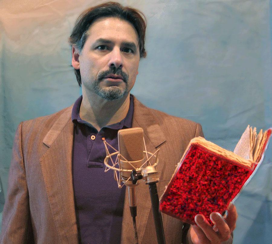 Dean Santomieri reads