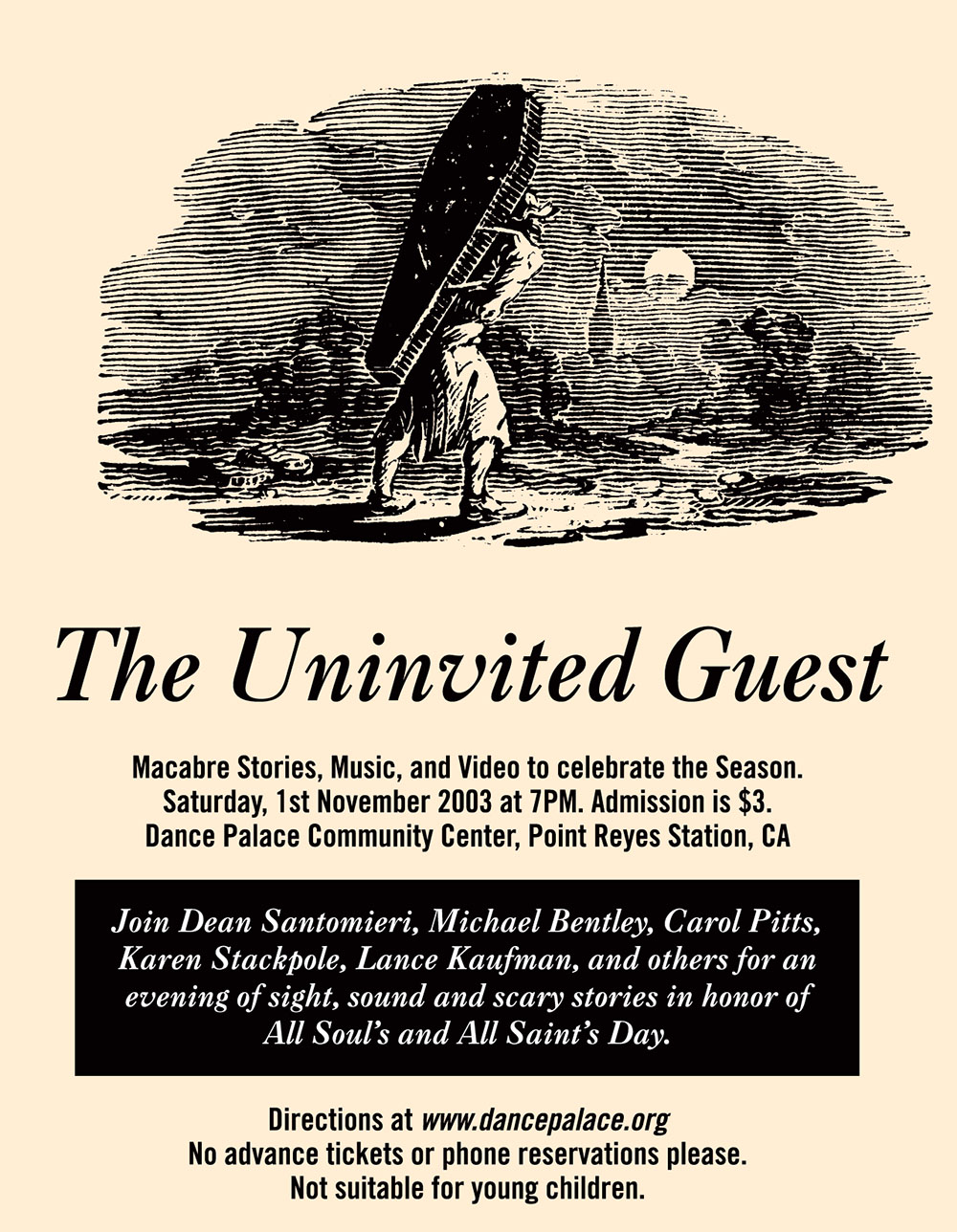 Uninvited Guest postcard